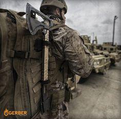 Армейский томагавк Gerber Downrange Tomahawk
