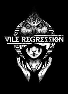 Vile Regression Merch Design on Behance