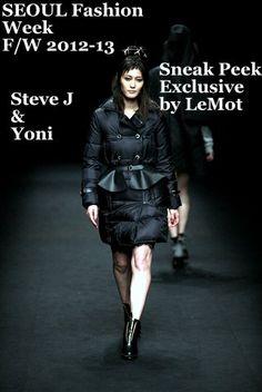 Seoul Fashion Week!  Steve J & Yoni for F/W 2012-13  more @ http://lemotsupreme.blogspot.in/