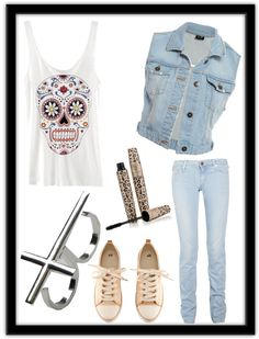 """""""Daily#32"""" by emohair ❤ liked on Polyvore"""