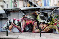 street art in san francisco   Street Art New York City e San Francisco