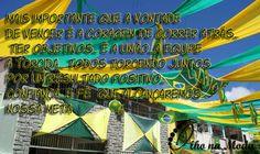 Bom Dia Brasil ! Muita Força....Confiança e Fé que chegaremos lá... Olho na Moda