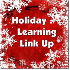 Holiday Learning Link Up on Laura Candler's Corkboard Connections - A collection of seasonal activities for grades 2 through 6 that make learning fun in December!