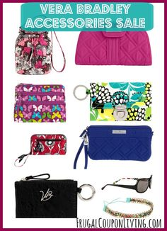 Vera Bradley Accessories Sale – Save up to 50%