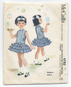 #Vintage #Sewing #Pattern1950s McCalls 4783