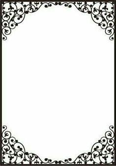 Dainty Frame Embossing Folder by Crafts Too for sale online Frame Border Design, Page Borders Design, Boarder Designs, Borders For Paper, Borders And Frames, Printable Border, Printable Labels, Printables, Floral Frames