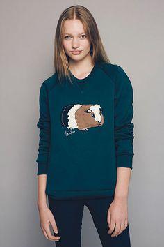 2016 Lenko animal sweaters- made in Melbourne! 10th year- Limited edition Guinea Pig