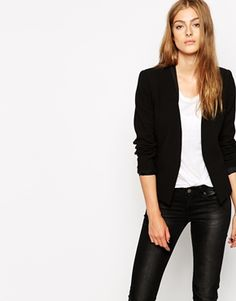 Mango Collarless Blazer $92.93