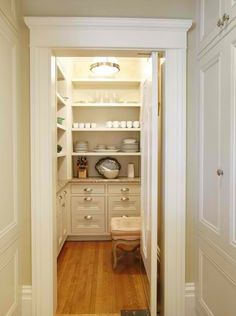 Ideal Butler's pantry.
