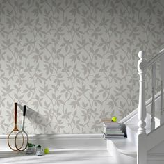 Elisa Neutral Wallpaper, , large