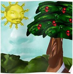 Everything in this picture is Snoop Dogg Poster