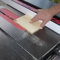 Have a Table Saw Jig? You Can Make Flawless Box Joints