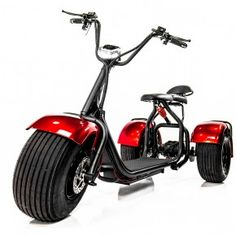 The all new EWheels electric chopper trike / powered tricycle / eBike is aimed at all age ranges and cycling skill levels. This motorized scooter and Trike Scooter, 3 Wheel Scooter, Tricycle Bike, Trike Bicycle, Electric Bikes For Sale, Electric Tricycle, Electric Scooter, Electric Vehicle, Electric Cars