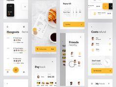 Best App Design, App Icon Design, Mobile Web Design, Food Web Design, Design Design, Ux Design Portfolio, App Promotion, Mobile Ui Patterns, App Design Inspiration