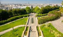 10 of the Best Cafes in Paris: La Mer à Boire - If it feels like you're on top of the world, it's because you are: La Mer à Boire overlooks the Parc de Belleville, one of the highest points in Paris, which offers a gorgeous vista of the cityscape all the way out to the Eiffel Tower. At the first sign of balmy weather, the large paved terrace is in high demand with the young local crowd, but inside is just as nice: the bright orange cafe offers free Wi-Fi, and serves as a gallery for…