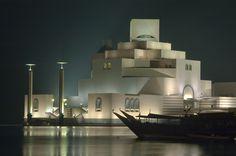Museum of Islamic Art by I.M. Pei in Doha Qatar