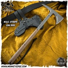 Clearing Brush, Monkey Edge, Rmj Tactical, Axe Handle, Cinder Block Walls, Kydex Sheath, Blade, Weapons, Eagle