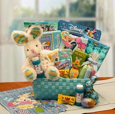 Buy this Little Boy Easter Activity Basket from All About Gifts and Baskets today!