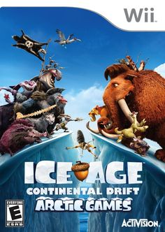 Ice Age: Continental Drift Arctic Games - Nintendo Wii