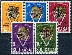Francobolli . Lotta contro la malaria - Malaria on StampsSud Kasai 1961