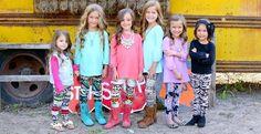 They're BACK! Kids' Printed Leggings! - 26 Styles!!