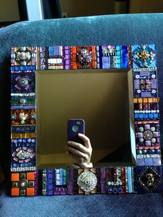 Mosaic Artwork, Mosaic Mirrors, Mosaic Wall, Mosaic Tiles, Stained Glass Birds, Stained Glass Panels, Mosaic Designs, Mosaic Patterns, Mosaic Furniture