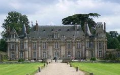 Chateau Miromesnil, France. The famous author Guy de Maupassant was born in the chateau in 1850 while his parents rented it for 3 years.