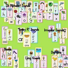Awesome alphabet for your classroom.
