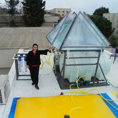 Pyramid Photobioreactor for microalgae growth