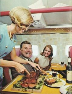 Continental Airlines Inflight Service
