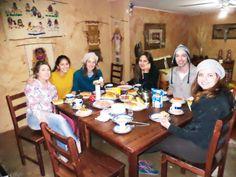 Desayuno en san pedro  Chile - Brasil y Portugal