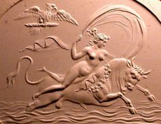 Zeus as a bull, carrying Europa on His back; Christie's, London, Catalogue des…