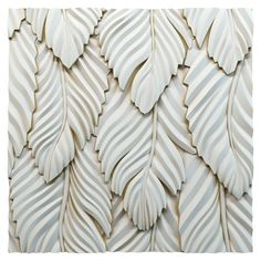 You can tell these leaves are fully creating a texture you can feel Tiles Texture, Texture Design, 3d Tiles, Concrete Tiles, 3d Wall Panels, Wall Patterns, Mural Art, Stone Carving, Natural Texture