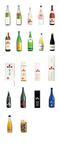 "japanese ""sake"" Wine Label Art, Wine Labels, Beverage Packaging, Bottle Packaging, Label Design, Package Design, Sushi Night, Japanese Sake, Wine Down"