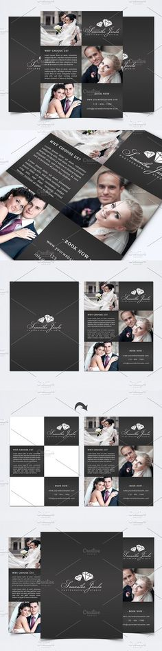 Photography Flyer Template. Flyer Templates. $12.00