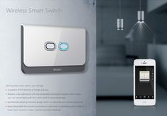 Wireless Smart Switch   Wall switch   Beitragsdetails   iF ONLINE EXHIBITION