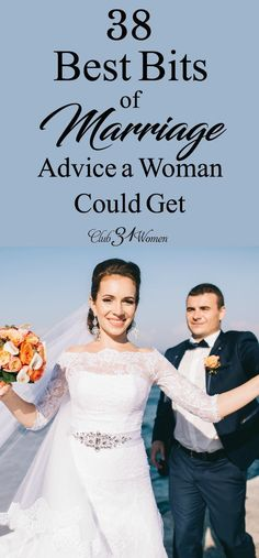 Are you looking for good marriage advice? Here's some of the best you'll ever find! Because we want to be good wives, and that requires some knowledge.... via @Club31Women