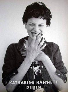 Katharine Hamnett photographed by Juergen Teller