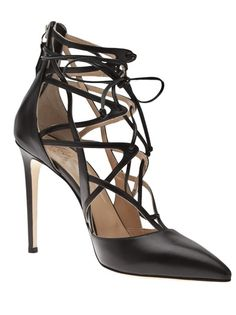 Love These! ALEJANDRO INGELMO - lace up pump 5