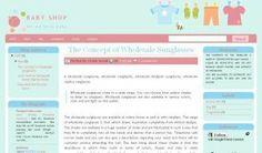 Baby Shop | Free Blogger Template, Blogger Widgets,Vector, Icon, Design Resources,Design Inspiration