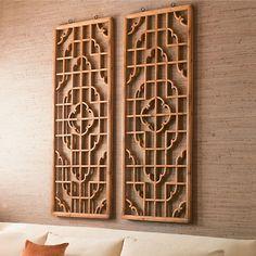 Beautiful wood panels