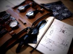 Fromanteel sketchbook - Timemachine Have Time, Watches, Wristwatches, Clocks