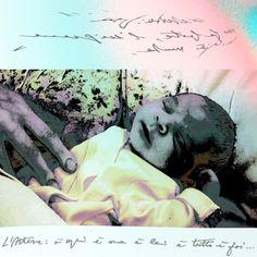 Floridee per ignota - Fine Art - 30x30 cm - opera meravigliosa di Angela Marchionni artista in esclusiva con la Galleria Wikiarte di Bologna