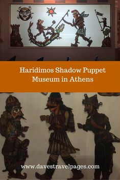 The Haridimos Shadow Puppet Museum in Athens, is a museum that keeps an important part of Greek cultural history alive. Please read the article to find out more about Karagiozis Shadow Puppet Shows . Greece Vacation, Greece Travel, Athens Nightlife, Europe Train Travel, Shadow Puppets, Top Travel Destinations, Stop Motion, Travel Inspiration, Greece