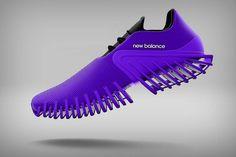 The next 'step' in shoe design! Sports Footwear, Sports Shoes, Footwear Shoes, Shoes Sandals, Mens Fashion Shoes, Sneakers Fashion, Futuristic Shoes, Fresh Shoes, Unique Shoes