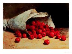 Antoine Vollon - A Spilled Bag of Cherries