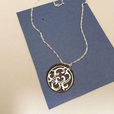 Vintage Style Natural Brass Necklace