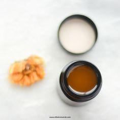 Receta de cosmética natural. Crema de caléndula vegana