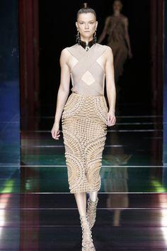 polishmodels: Kasia Struss - Balmain, Ready To Wear, Spring/Summer 2016, Paris Fashion Week