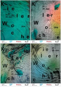 Kieler Woche 2014 - studio jung / graphic design